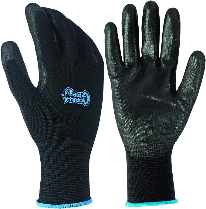 ihocon: Gorilla Grip Slip Resistant All Purpose Work Gloves 防滑多用途工作手套