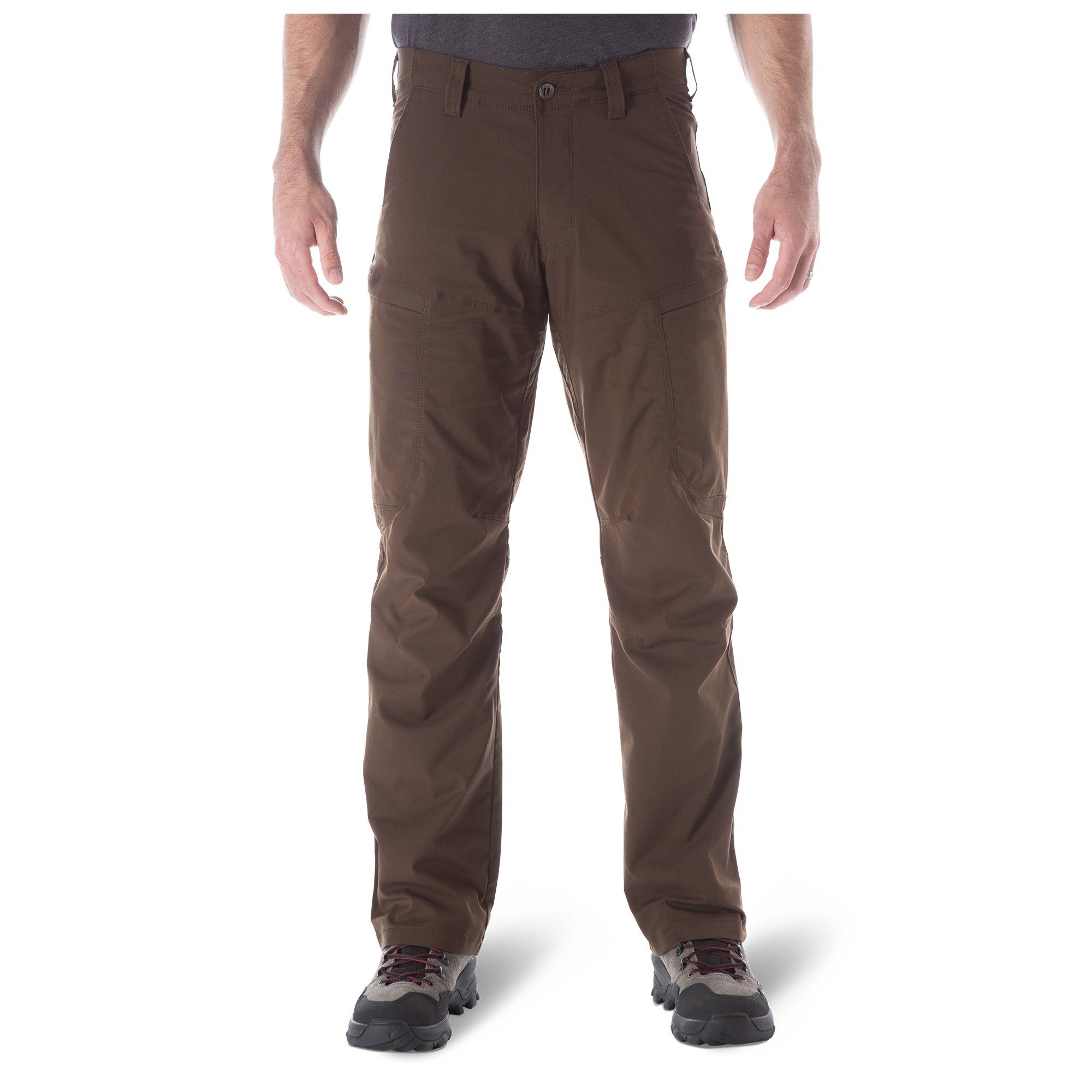 5.11 Tactical Men's Apex Cargo Pant, Water Repellant, Flex-Tac Mechanical Stretch, Burnt, 34Wx32L, Style 74434 by 5.11