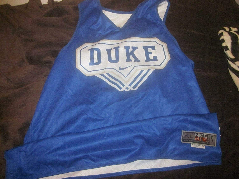 designer fashion e6d27 22f9e 2018/219 Duke NCAA Basketball Game Used Reversible Practice ...