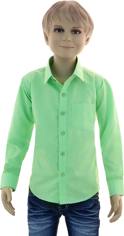 GILLSONZ - Camisa - Clásico - para niño Verde Manzana 7/8 años ...