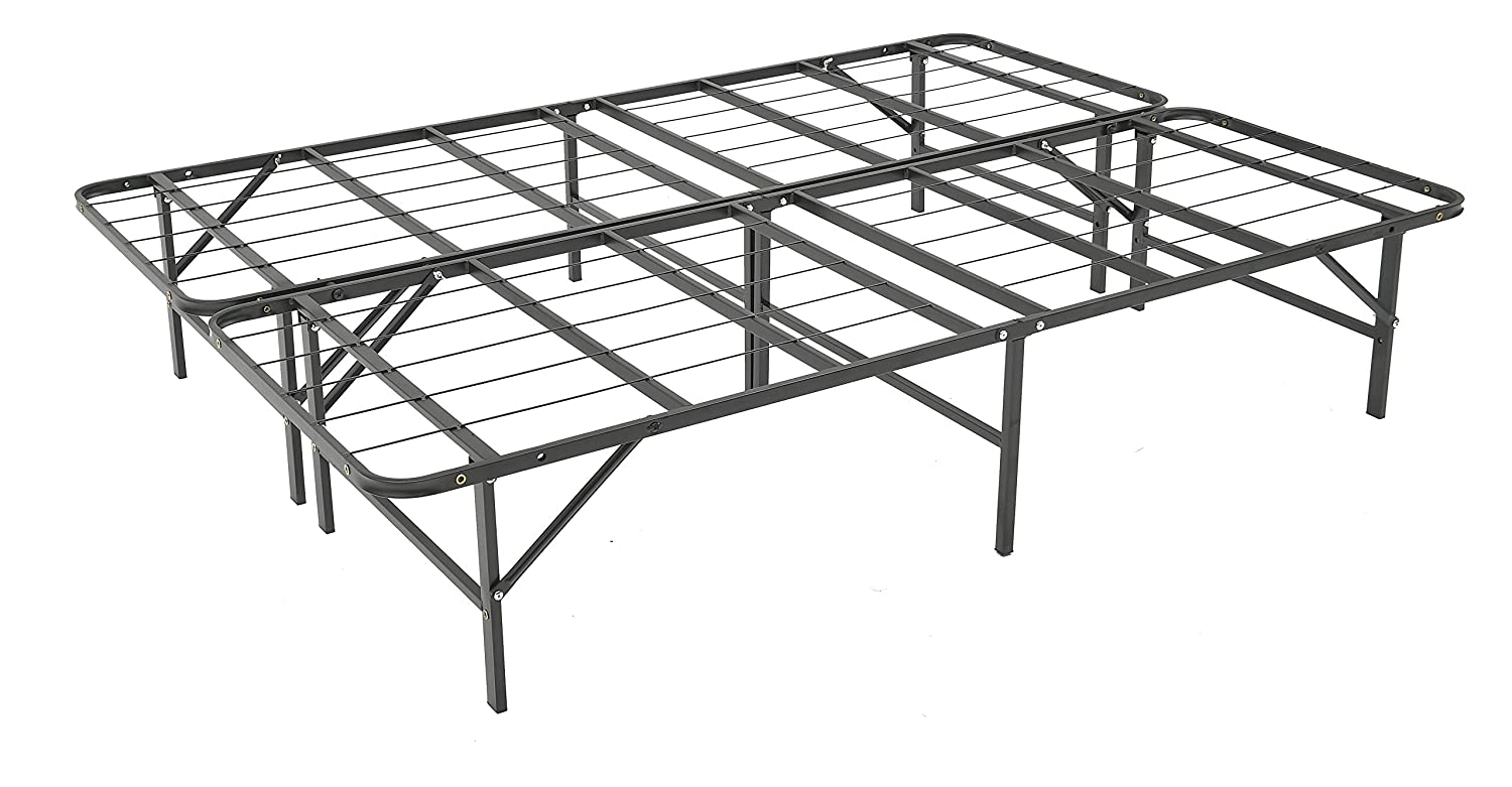 CDM product Livearty 14 Inch Queen Size Mattress Foundation/Platform Bed Frame/Box Spring Replacement/Quiet Noise-Free/Maximum Under-Bed Storage big image