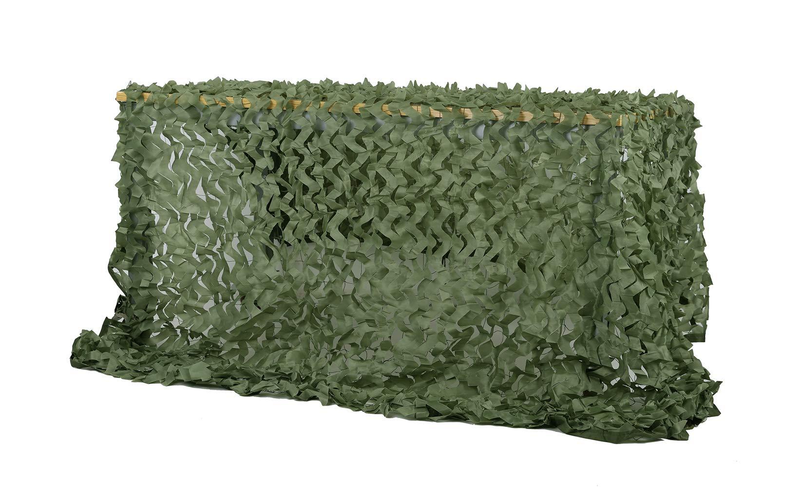 Chiglia Camouflage Netting Camo Net Sunscreen Nets Green 6.5ftx10ft