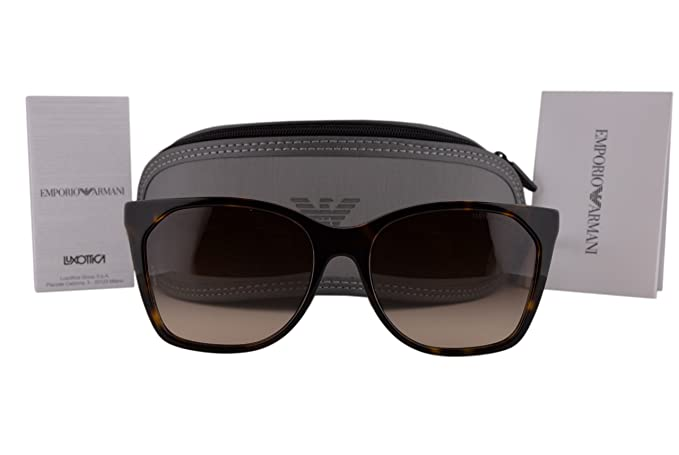 430173b3d3 Image Unavailable. Image not available for. Colour  Emporio Armani EA4075 Sunglasses  Havana ...