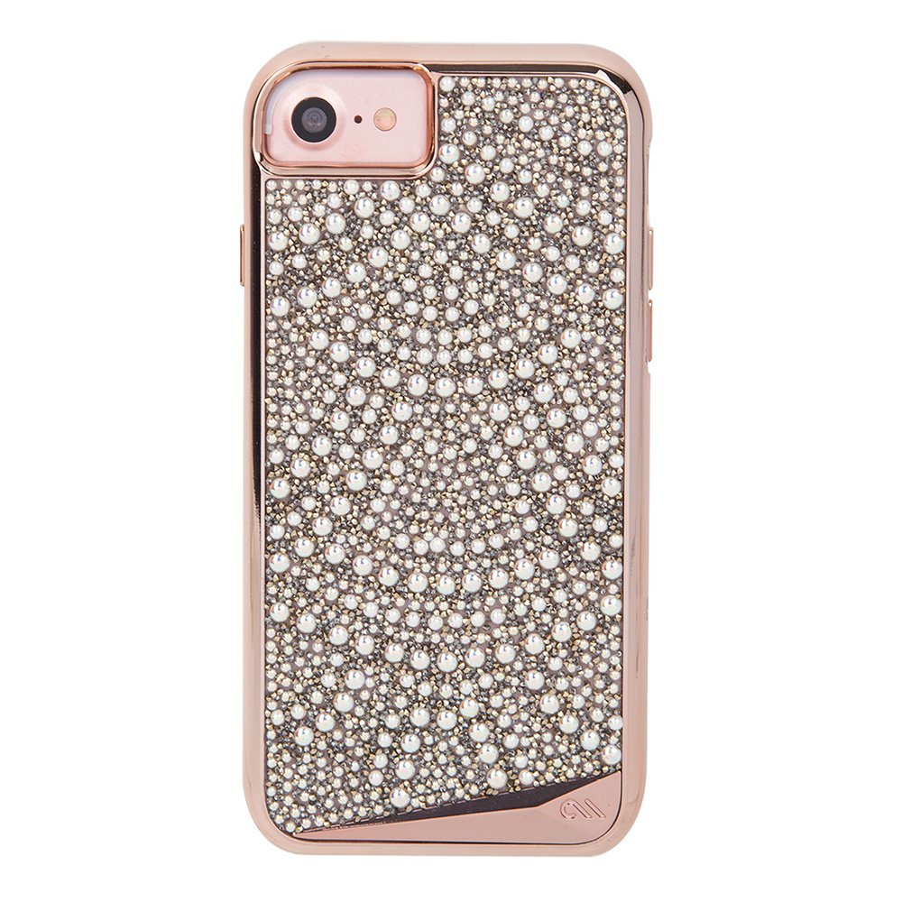 new concept 2dad0 df915 Case-Mate iPhone 8 Case - BRILLIANCE - 800+ Genuine Crystals - Protective  Design for Apple iPhone 8 - Lace