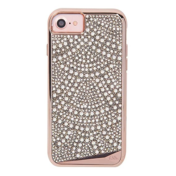 new concept d3278 2e01f Case-Mate iPhone 8 Case - BRILLIANCE - 800+ Genuine Crystals - Protective  Design for Apple iPhone 8 - Lace