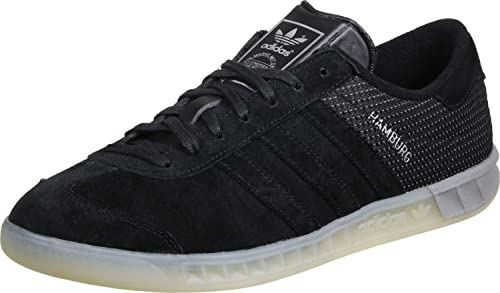 adidas Originals Hamburg Tech Sneaker per Uomo Nero, 39 13