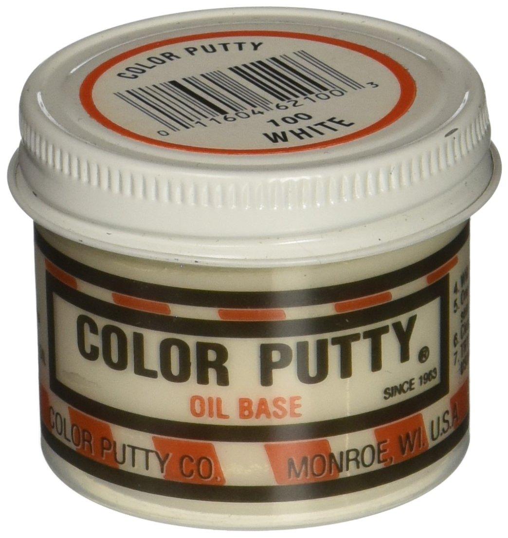 Color Putty Company パテ 1ポンド瓶 ホワイト 3.68 oz 100 1 B003P4XK1Eホワイト 3.68 oz