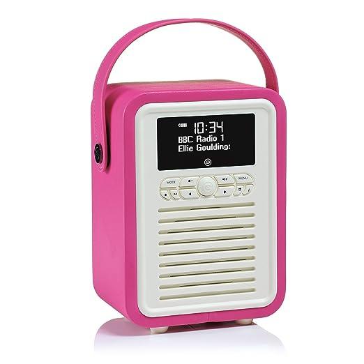9 opinioni per VQ Mini radio digitale stile rétro DAB e DAB+ con FM, Bluetooth e sveglia