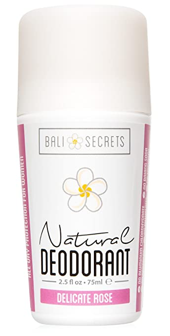 42fdbdc8971133 Bali Secrets Natural Deodorant - Organic   Vegan - For Women   Men - All Day