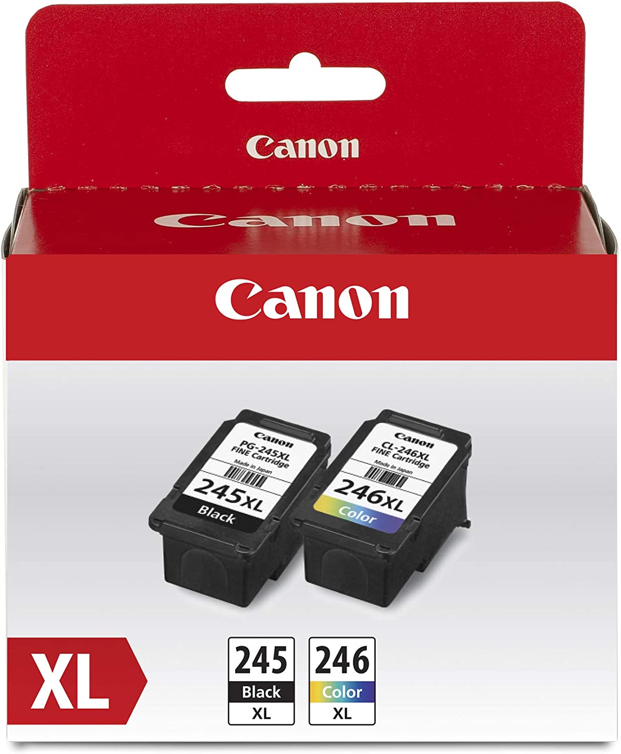 Canon PG-245XL/CL-246XL Ink/Photo Paper Pack, Compatible to MX490, MX492, MG2522, MG3020,MG2920,MG2924,iP2820,MG2525 and MG2420