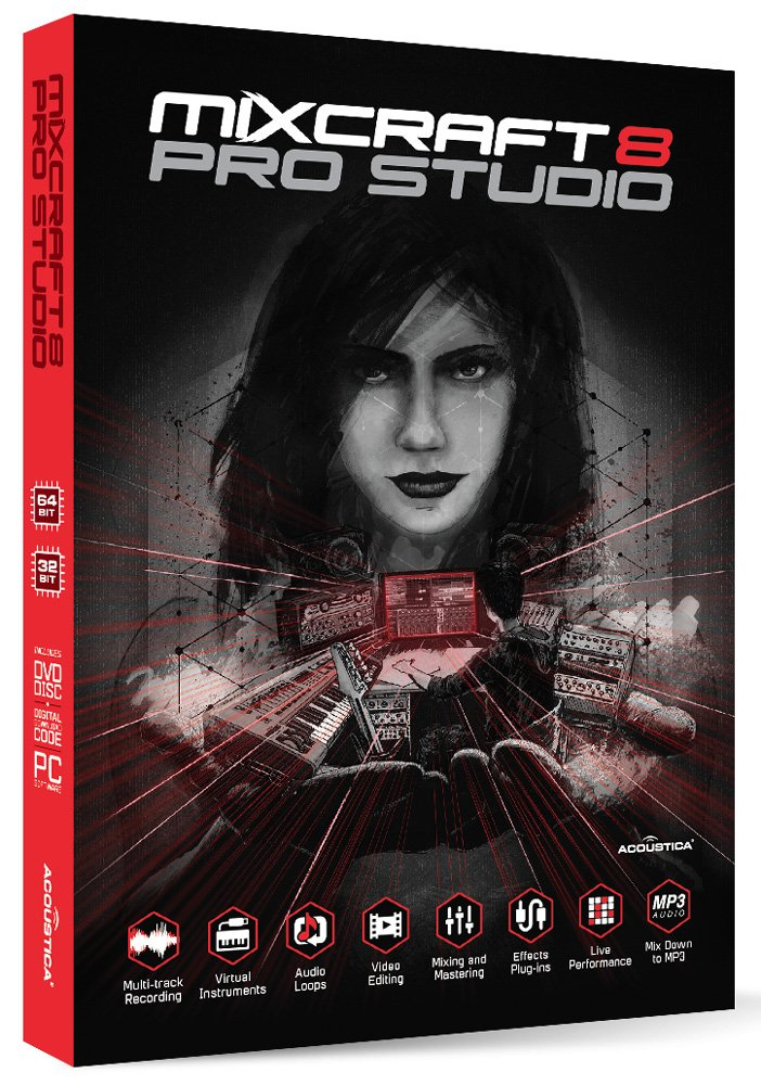 Mixcraft 8 Pro Studio by Acoustica