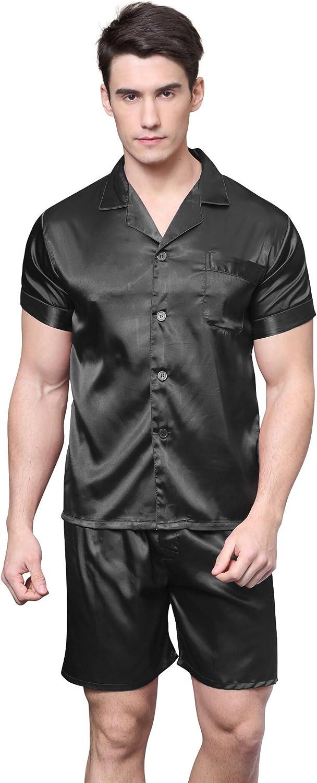 Men/'s Short Pajama Set Sleepwear
