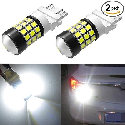 Car Lights 2pcs 3156 3157 T25 High Power 8w White Smd Led Front Turn Reverse Signal Light Bulbs Lamp