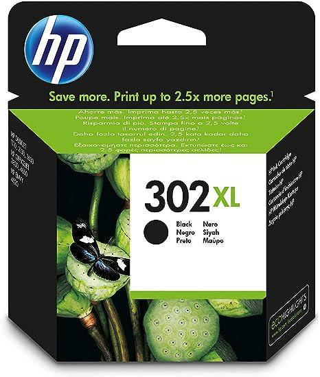 HP F6U68AE 302XL Cartucho de Tinta Original de alto rendimiento ...