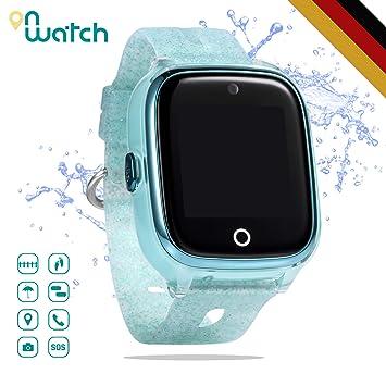 ON WATCH Smartwatch Kinder GPS + WiFi + Lbs + Agps mit SIM karte ...