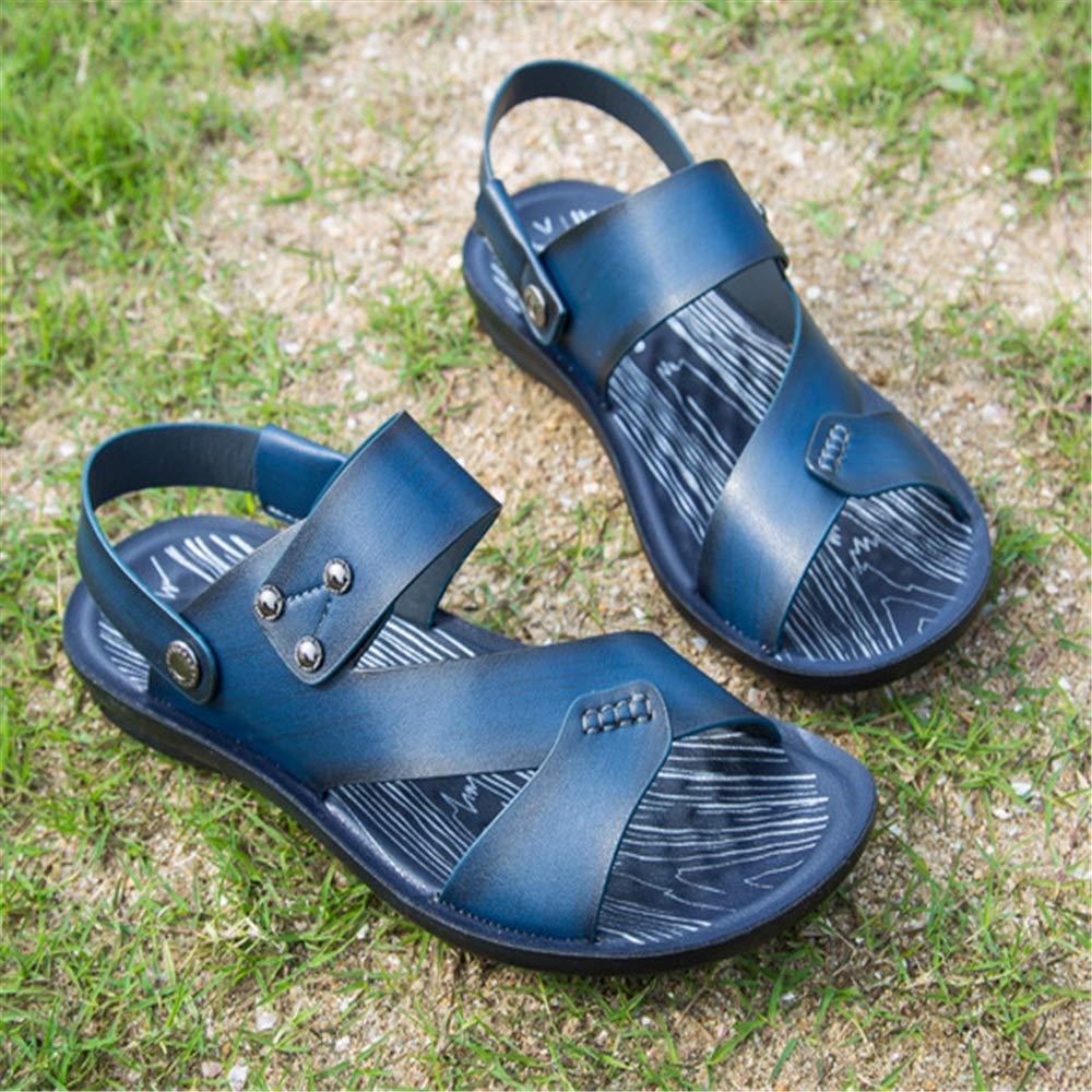 Wangcui Sandalen Herren Outdoor Sports Komfort Dual Beach Schuhe Blau, Casual Sandalen (Farbe : Blau, Schuhe Größe : 42 2/3 EU) Blau dd7d27