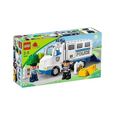 Lego DUPLO - LEGOville - 5680 - Jouet Premier Age - Le Camion de Police