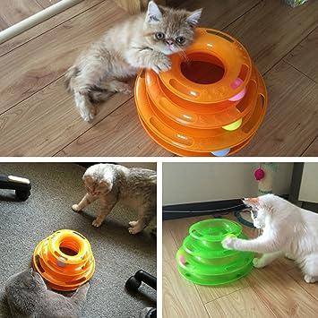 Juguete para gatos de YFairy - Tocadiscos divertido para mascotas ...