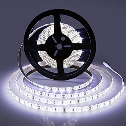 Amazon led strip lights smd5630 super bright 6000k tape led strip lights smd5630 super bright 6000k tape lighting 300 units 12v dc waterproof aloadofball Image collections