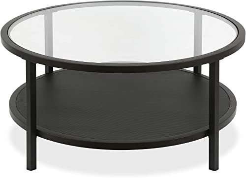Silverwood FT1154-COM Oxford Industrial Collection Coffee Table, 48 L x 24 W x 19 H