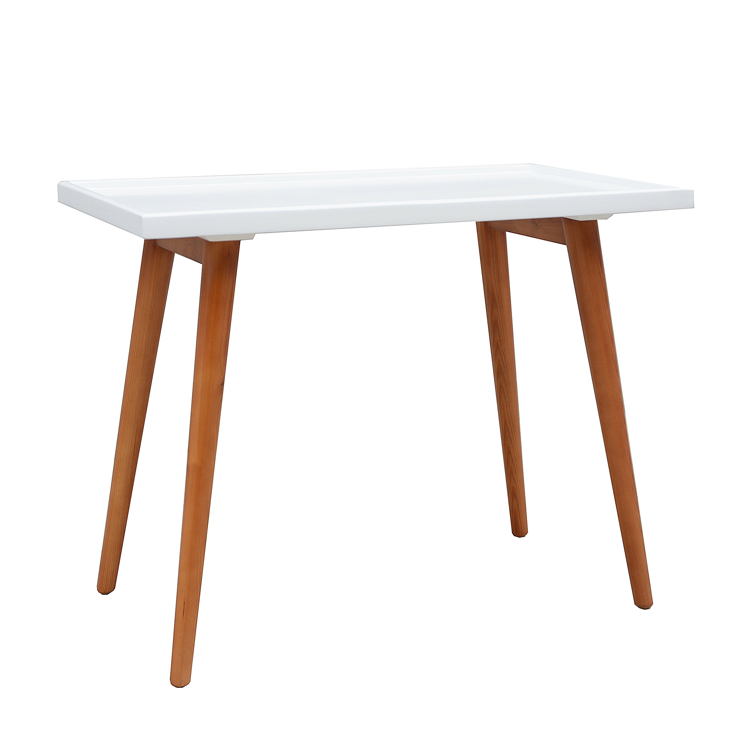 Porthos Home Amber Pine Console Table, White