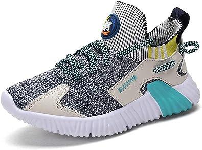 Zapatillas Niños Deporte Transpirables Comodos Zapatos Senderismo Niñas Ligeras Calzado de Running Talla 26-39: Amazon.es: Zapatos y complementos