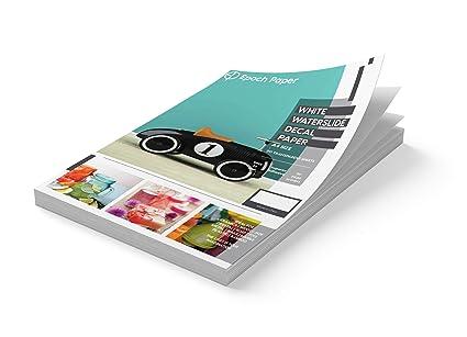Epoch Paper - Papel adhesivo para impresoras de inyección de ...
