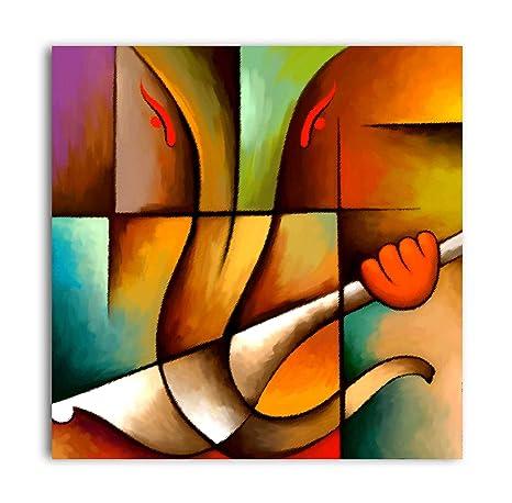 Ganesha Paintings Modern Art