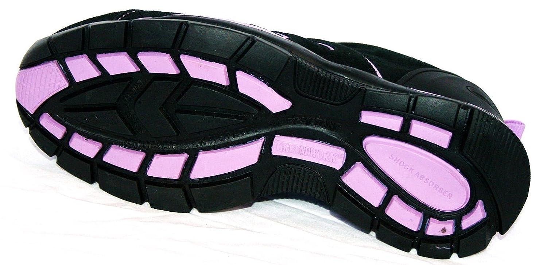 Groundwork Schwarz Gr86, Unisex Erwachsene Sicherheits-Sneakers Schwarz Groundwork / Violett 17b8fd