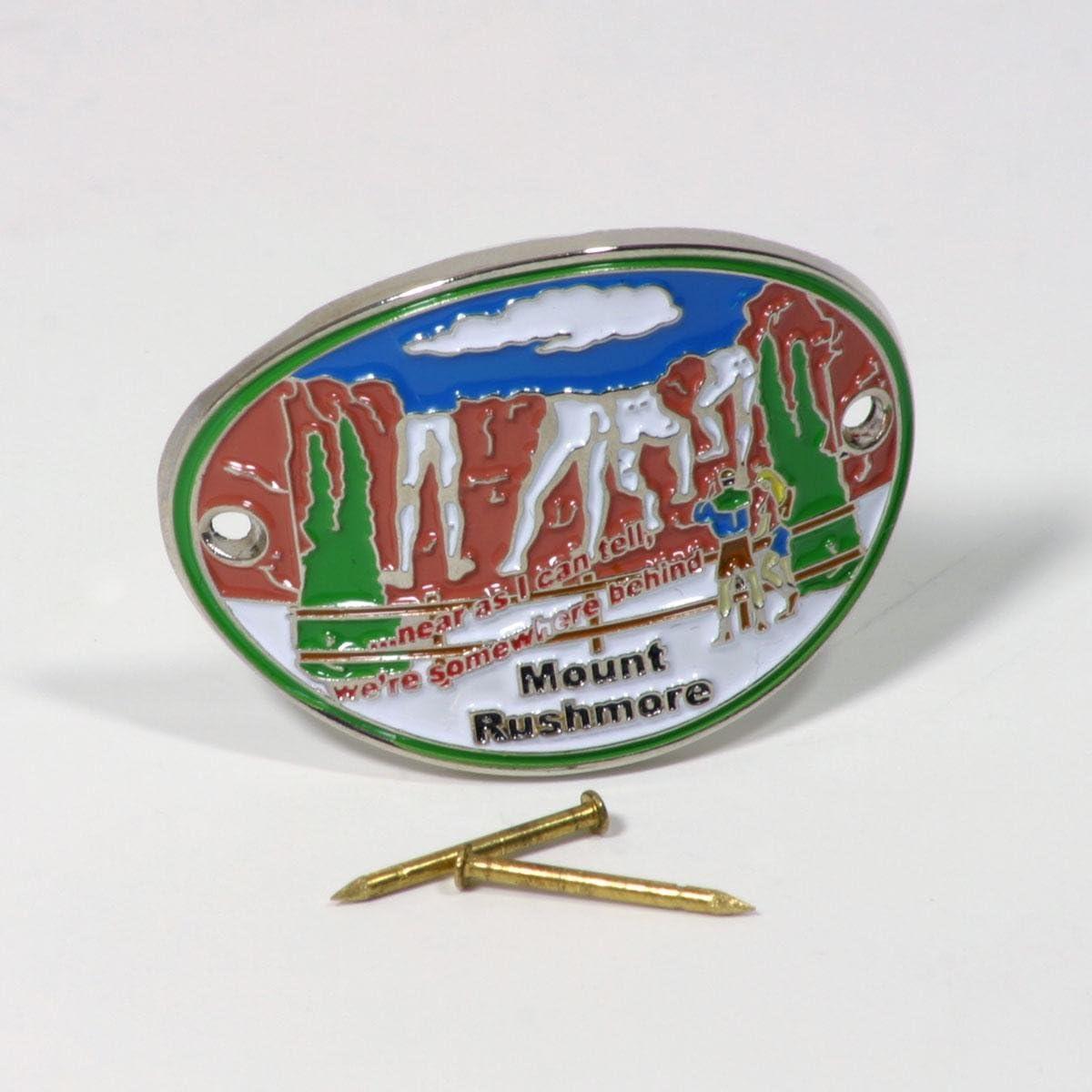 Mount Rushmore Walking Stick Hiking Medallion