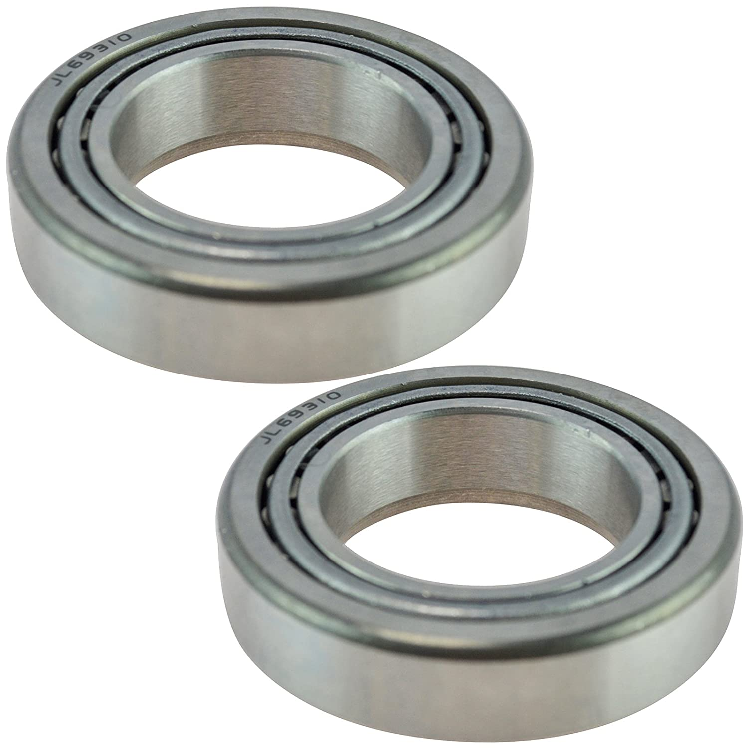 Front Bearing Wheel Seal Pair LH Driver /& RH Passenger Sides for Ford Lincoln