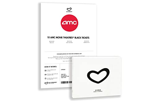 Amazon.com: AMC Theatres Experience - Tarjeta de regalo con ...