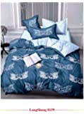 Starstorm_6 Pieces King Size Fitted Bed Sheet Set_Duck Heart Design (Click above on Starstorm for more designs)