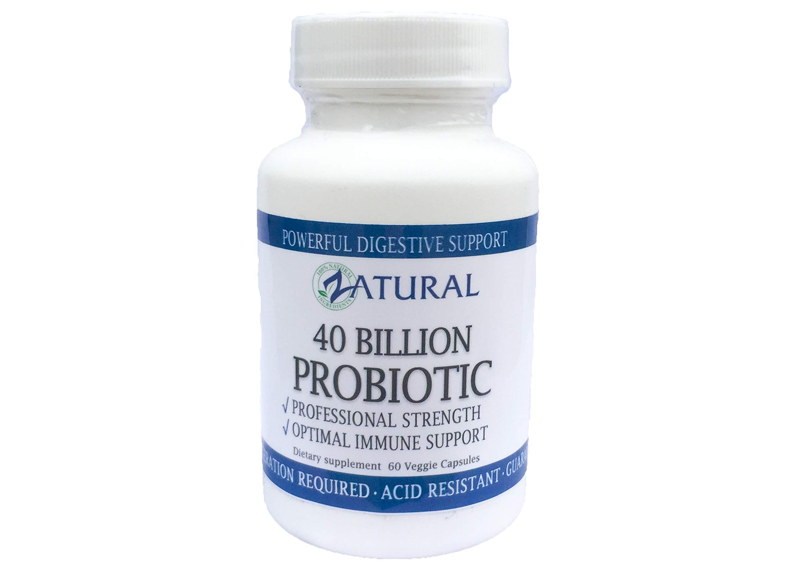 Probiotic 40 Billion-Deep Immune Support-Professional Strength, Doctor Formulated, Science Based- (1 Pack)
