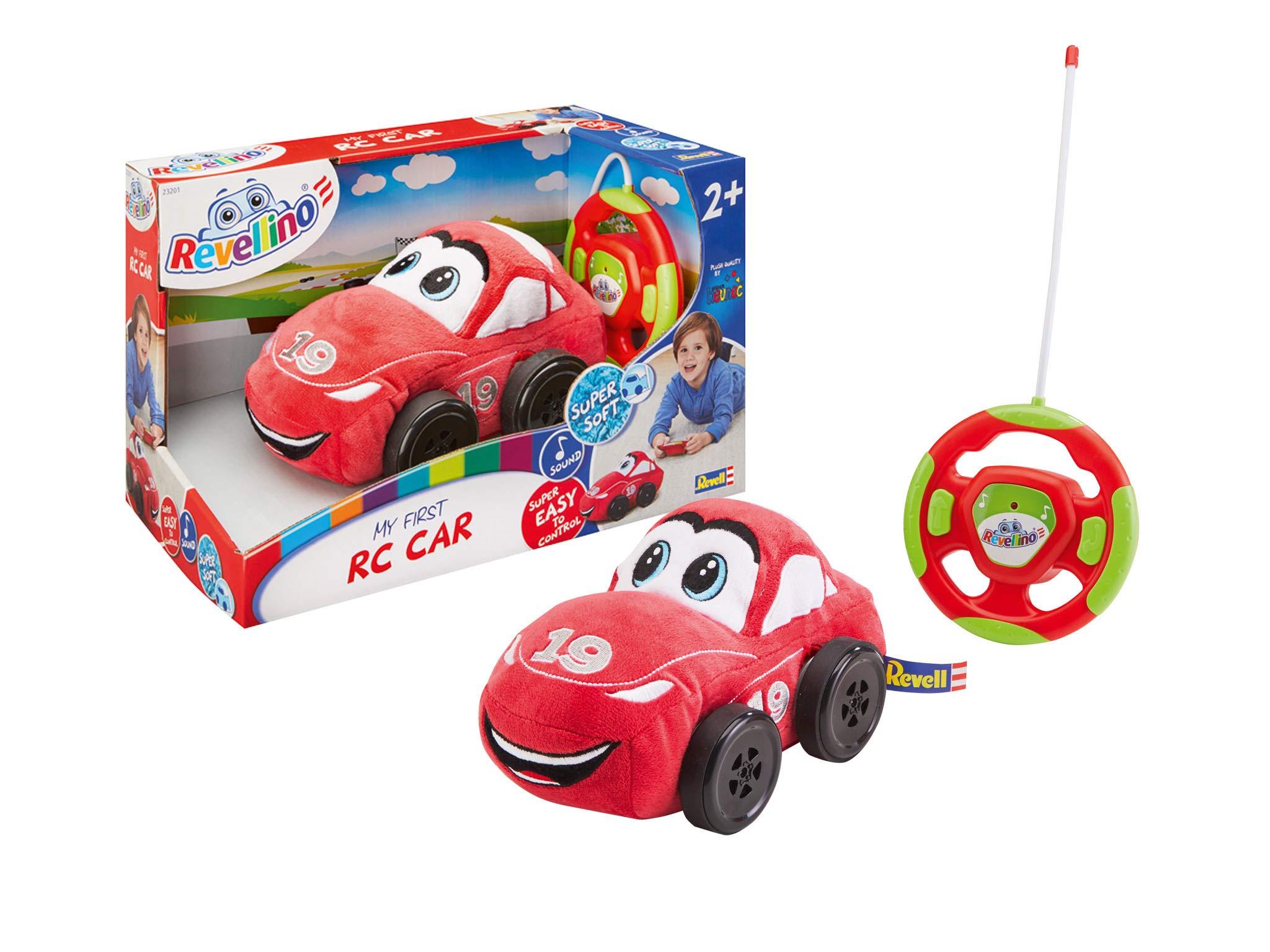 Revell 23201 Revellino - Ma première Voiture de Course radiocommandée Radio Controlled Car, Red