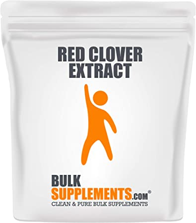 BulkSupplements.com Red Clover Extract Powder - Menopause Supplements - Fertility Supplements for Women (250 Grams)