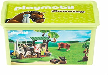 Playmobil – 064747 – Caja – Country – 12 l: Amazon.es: Juguetes y ...