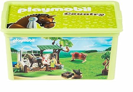 Playmobil – 064747 – Caja – Country – 12 l: Amazon.es: Juguetes y juegos