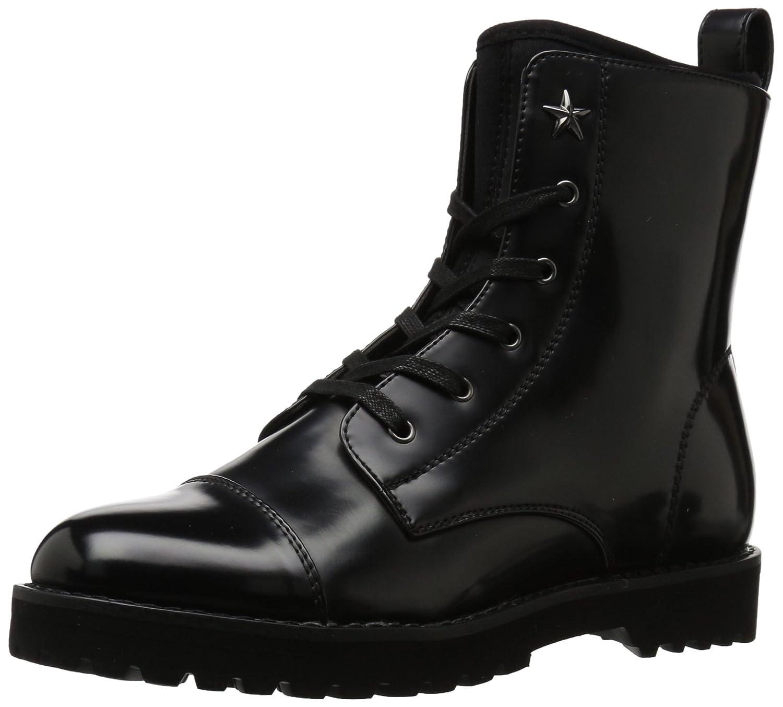 Tommy Hilfiger Women's Palmyr Combat Boot B06Y3HB3BZ 12 B(M) US|Black/Black