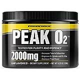 PrimaForce Peak O2 Powder Supplement, 120 Grams – Improves O2 Uptake & VO2 Max / Increases Time to Exhaustion / Enhances…