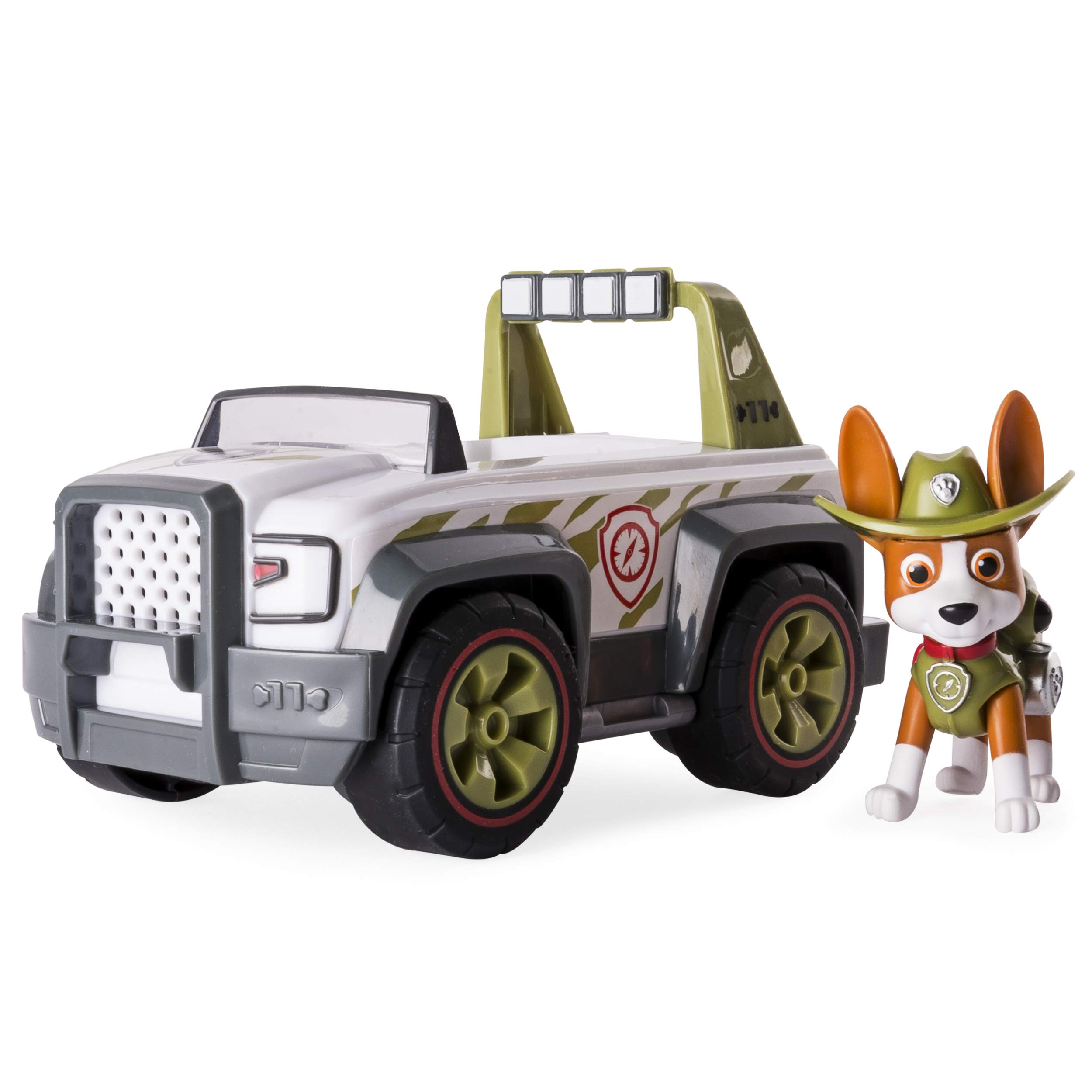 Paw Patrol, Jungle Rescue, Tracker's Jungle Cruiser, Vehicle & Figure by Paw Patrol