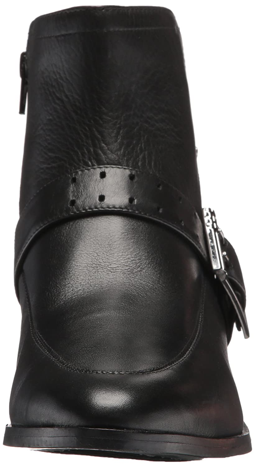 Aerosoles Women's Back East Ankle Boot B075694BTH 6.5 B(M) US|Black Leather