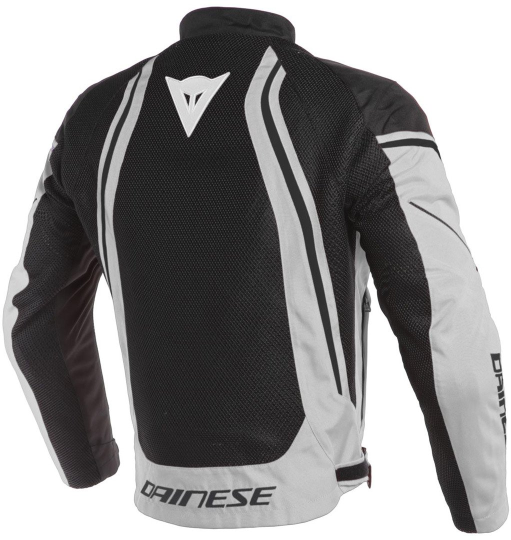 Dainese Mens Air Crono2 Tex Jacket Black/White 52