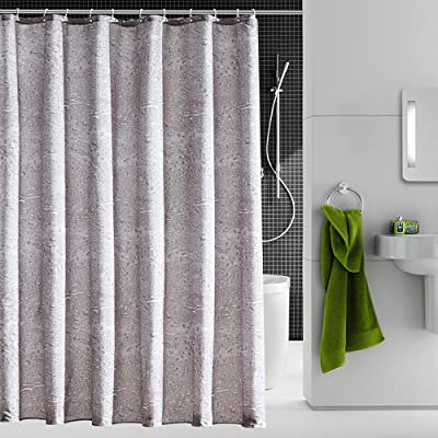 Riverbyland Shower Curtains Water Drop Grey 72 X 80