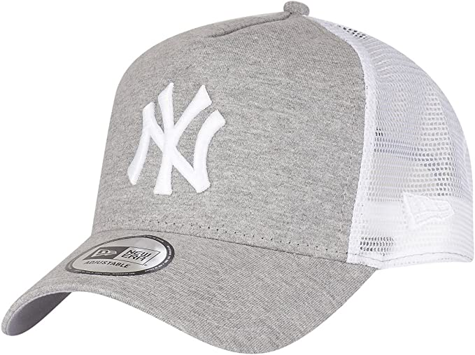 New Era A-Frame Trucker Cap JERSEY New York Yankees grau