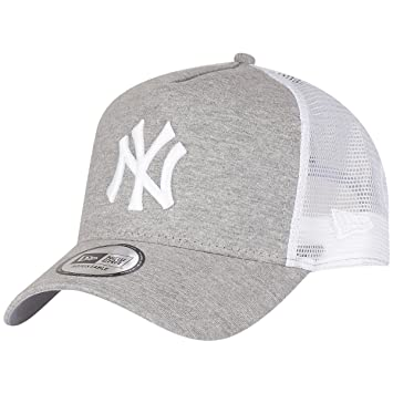 2cc1d47f7d8 New Era Jersey Essential New York Yankees Gray Optic White Cap 9Forty  Trucker Jacket