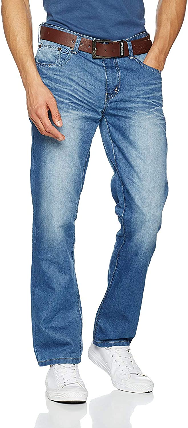 Crosshatch New Farrow Vaqueros Straight para Hombre