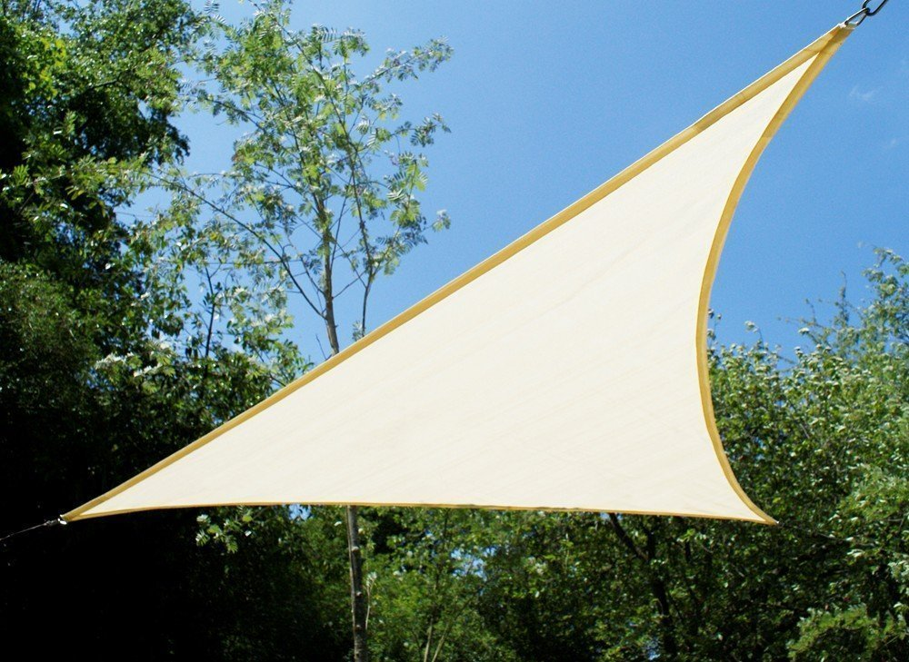 Tenda A Vela Quadrata : Tenda a vela kookaburra impermeabile di colore avorio m quadrata