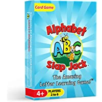 Alphabet Slap Jack - a Fun ABC Letter Learning Card Game - Kids Learn Upper/Lowercase Letter Recognition and Letter…
