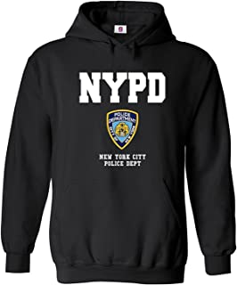 Graphic Impact Inspired NYPD New Yorker Police Funny Hoodie